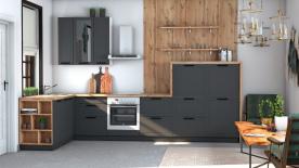 Кухни Небольшие Угловые Фото   155x356